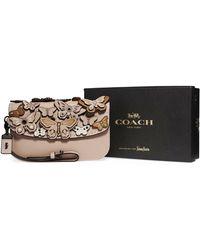 COACH | Butterfly Large Wristlet Clutch Bag | Lyst
