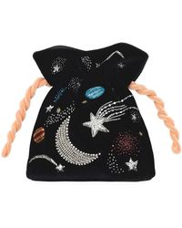 Les Petits Joueurs - Beaded Universe Trilly Bag - Lyst