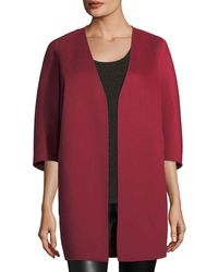 Neiman Marcus - Luxury Double-faced Cashmere Cocoon Coat - Lyst
