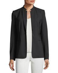 Elie Tahari - Lucinda Wool-blend Jacket - Lyst