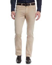 Brioni - Men's 5-pocket Twill Pants - Lyst
