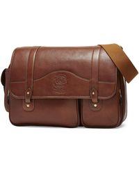 Ghurka - Fielding No. 137 Leather Messenger Bag - Lyst