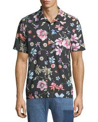 Ovadia And Sons - Beach Bouquet Short-sleeve Sport Shirt - Lyst