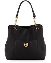 Tory Burch - Chelsea Slouchy Leather Shoulder Tote Bag - Lyst