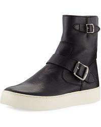 Frye - Lena Engineer Bootie Sneakers - Lyst
