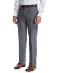 Zanella | Super 120s Wool Trousers | Lyst