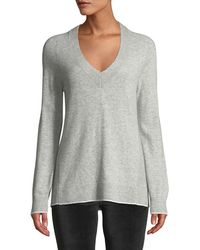 Rag & Bone - Yorke Cashmere V-neck Sweater With Mesh Panels - Lyst