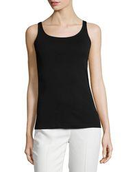 Eileen Fisher - Organic Cotton Slim Tank - Lyst