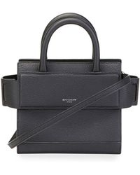 Givenchy | Horizon Nano Grained Leather Satchel Bag | Lyst