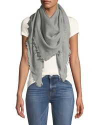 Vince - Solid Virgin Wool Scarf - Lyst