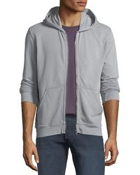 ATM - Men's French Terry Zip-front Hoodie - Lyst