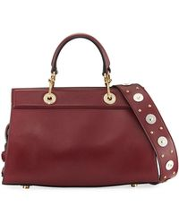Altuzarra | Infinity Small Smooth Studded Leather Tote Bag | Lyst