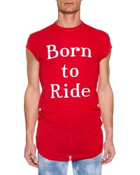 DSquared² - Born To Ride Tank Top - Lyst