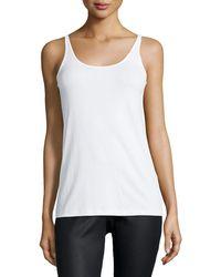 Eileen Fisher | Silk Jersey Long Slim Camisole | Lyst