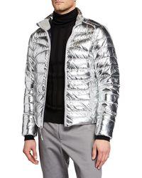 Ralph Lauren - Men's Metallic Zip-front Puffer Jacket - Lyst