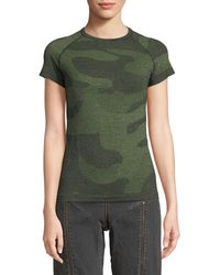 HPE - Camouflage-print Cross-x Tee - Lyst