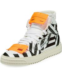 9668f9d17524 Lyst - Off-White c o Virgil Abloh Men s Off Court Suede Sneakers for Men