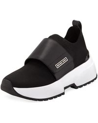 MICHAEL Michael Kors - Cosmo Knit Slip-on Sneakers - Lyst