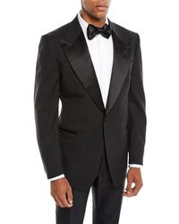 Tom Ford - Men's Satin Peak-lapel Two-piece Tuxedo Suit - Lyst