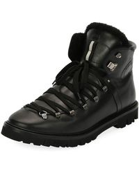 Bally - Men's Chack Fur-lined Hiking Boots - Lyst