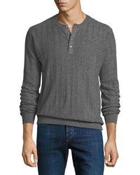Robert Graham - Men's Henley T-shirt - Lyst