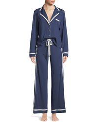 Cosabella - Bella Contrast-trim Pajama Set - Lyst