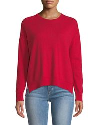 Sundry - Hearts And Stars Printed Wool-cashmere Sweater - Lyst