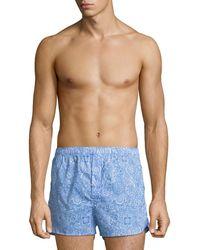 Derek Rose - Ledbury 6 Modern-fit Boxer Shorts - Lyst
