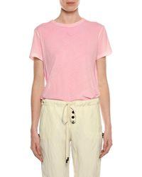 Tom Ford - Crewneck Short-sleeve Cotton T-shirt - Lyst