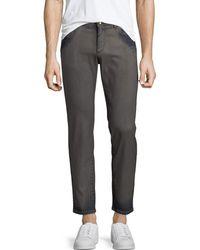 Dolce & Gabbana - Men's Garment Dyed Straight-leg Jeans - Lyst