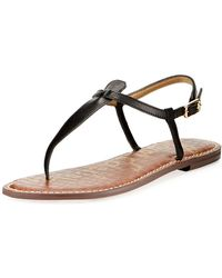 958d8163b34 Sam Edelman - Women s Gigi Thong Sandals - Lyst