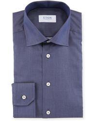 Eton of Sweden - Men's Pique Slim-fit Dress Shirt - Lyst