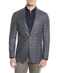 Peter Millar - Men's Crown Soft Plaid Blazer Jacket - Lyst