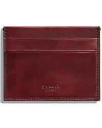 Shinola - Men's Harness 5-pocket Card Case - Lyst