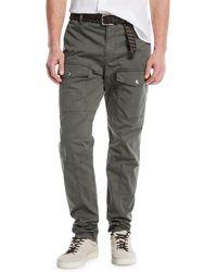 Brunello Cucinelli - Leisure-fit Parachute Cargo Pants - Lyst