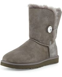 UGG - Bailey Bling Button Boot - Lyst