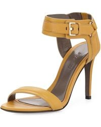 Jason Wu - Leather Ankle-cuff Sandals - Lyst