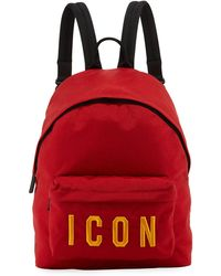 DSquared² - Icon Nylon Backpack - Lyst
