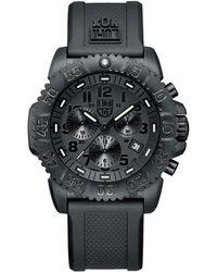 Luminox - 44mm Navy Seal 3080 Series Colormark Chronograph Watch - Lyst