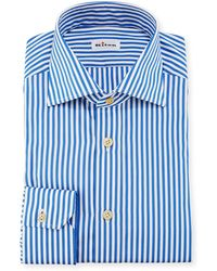 Kiton - Bengal-stripe Dress Shirt - Lyst