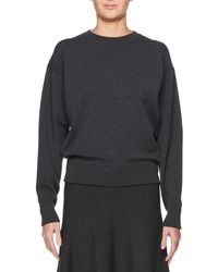 The Row - Rudi Crewneck Long-sleeve Pullover Knit Sweatshirt - Lyst