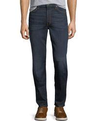 Joe's Jeans - Men's Folsom Dark-wash Straight-leg Jeans - Lyst