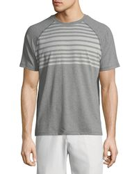 Peter Millar - Rio Engineered Stripe Tech T-shirt - Lyst