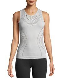 Alo Yoga - Lark Fitted Performance Tank - Lyst