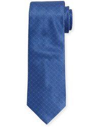 Stefano Ricci - Neat Circle Silk Tie - Lyst
