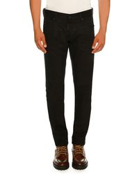 DSquared² - Bull Wash Slim-fit Solid Jeans - Lyst
