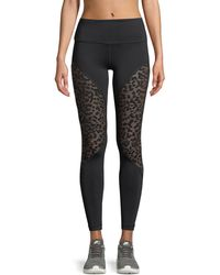 Vimmia | Bold Full-length Performance Leggings With Cheetah Burnout | Lyst
