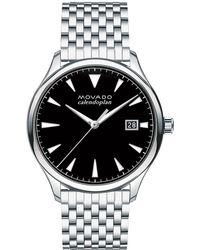 Movado - 40mm Heritage Series Calendoplan Watch - Lyst