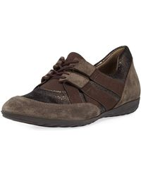 Sesto Meucci - Bamy Mixed Leather Sneakers - Lyst