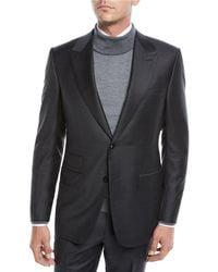 Ermenegildo Zegna - Men's Herringbone Two-piece Wool Suit - Lyst